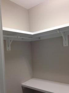 Guest rooms closet